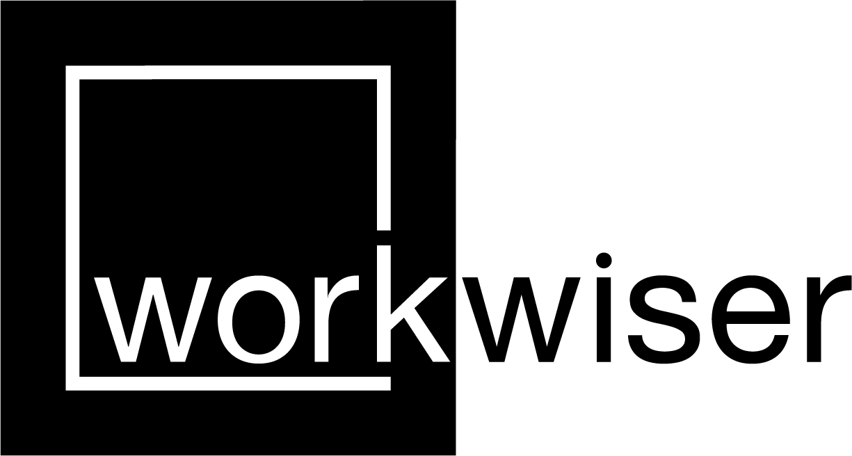 large logo - WorkWiser collaborative co-working office space Somerset West
